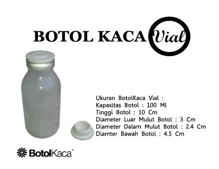 Botol Kaca Vial