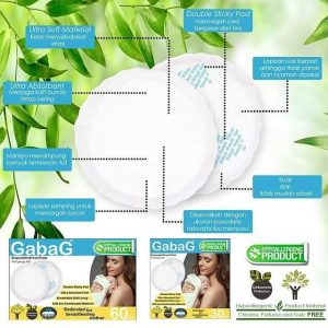jual breast pad gabag isi 30