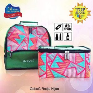 jual cooler bag gabag radja hijau