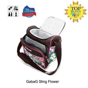 jual cooler bag gabag sling flower